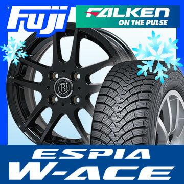 【送料無料】 FALKEN ファルケン エスピア W-ACE 165/60R15 15インチ スタッドレスタイヤ ホイール4本セット BRANDLE-LINE ブランドルライン アヴェルサ 5Z 4.5J 4.50-15