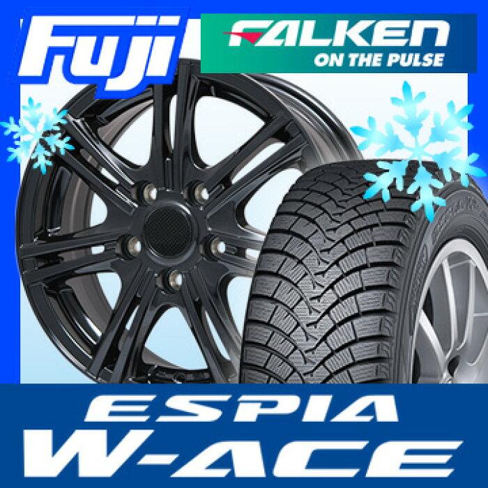 【送料無料】FALKENファルケンエスピアW-ACE205/55R1616インチスタッドレスタイヤホイール4本セットBRANDLEブランドルM68B6.5J6.50-16
