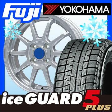 【送料無料 ソリオ(MA36S)】 YOKOHAMA ヨコハマ アイスガード ファイブIG50プラス 165/65R15 15インチ スタッドレスタイヤ ホイール4本セット BRANDLE ブランドル M60 4.5J 4.50-15