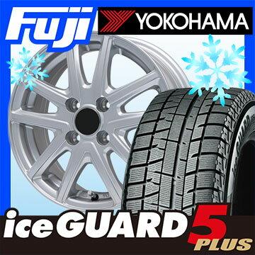 【送料無料】 YOKOHAMA ヨコハマ アイスガード ファイブIG50プラス 175/65R15 15インチ スタッドレスタイヤ ホイール4本セット BRANDLE ブランドル M61 5.5J 5.50-15