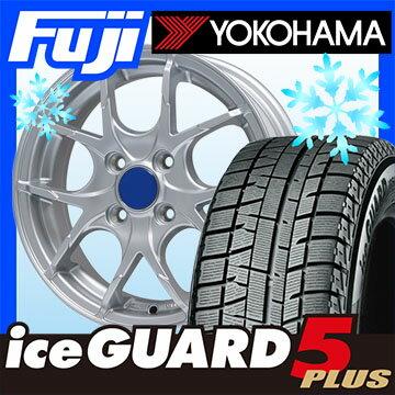 【送料無料 ソリオ(MA36S)】 YOKOHAMA ヨコハマ アイスガード ファイブIG50プラス 165/65R15 15インチ スタッドレスタイヤ ホイール4本セット BRANDLE ブランドル M69 4.5J 4.50-15