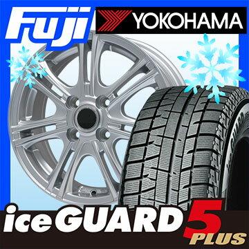 【送料無料】 YOKOHAMA ヨコハマ アイスガード ファイブIG50プラス 145/80R13 13インチ スタッドレスタイヤ ホイール4本セット BRANDLE ブランドル M68 4J 4.00-13
