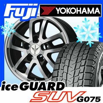 【送料無料】 YOKOHAMA ヨコハマ アイスガード SUV G075 285/60R18 18インチ スタッドレスタイヤ ホイール4本セット LEHRMEISTER ロードスポーク WR 8.5J 8.50-18【YOwin18】
