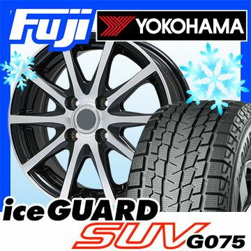 【送料無料】 YOKOHAMA ヨコハマ アイスガード SUV G075 215/70R16 16インチ スタッドレスタイヤ ホイール4本セット BRANDLE ブランドル M71BP 6.5J 6.50-16