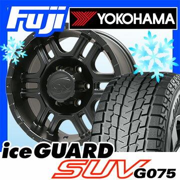 【送料無料】 YOKOHAMA ヨコハマ アイスガード SUV G075 315/75R16 16インチ スタッドレスタイヤ ホイール4本セット TWG イオン アロイ 179 8J 8.00-16