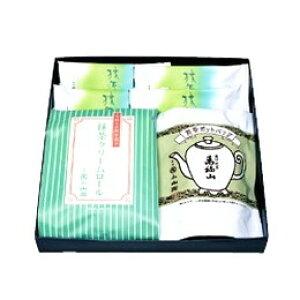 【丸久小山園】濃口煎茶・抹茶クリームロール・抹茶フィナンシェ(TO-25)