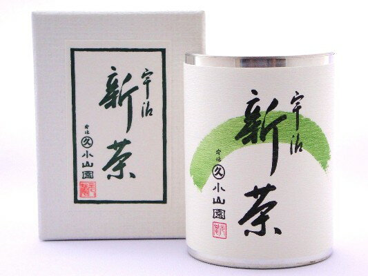 【新茶】丸久小山園 極上 宇治新茶 100g缶