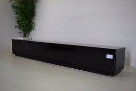 アウトレット日本製テレビ台 鏡面ブラック E1.6.20.1.5−10.Y.R2.1.31