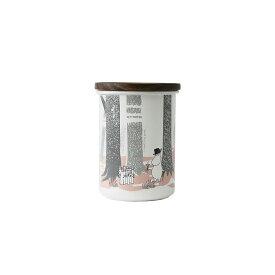 【安心のメーカー直販】MOOMIN 富士ホーロー ムーミン 9cmキャニスターL ホワイト ハニーウェア ホーロー キッチン用品 グッズ 収納 おしゃれ かわいい 保存容器 調味料入れ コーヒー豆入れ ムーミン・イン・ザ・フォレスト