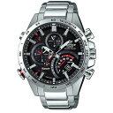 CASIOカシオ腕時計 エディフィス ソーラー時計スマートフォンリンクタイムトラベラーシリーズEQB-501XD-1AJF