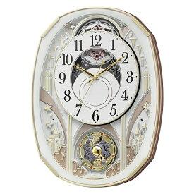 CITIZEN RHYTHM リズム時計掛時計スモールワールドノエルS電波時計4MN551RH03