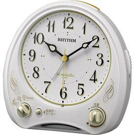リズム時計工業 RHYTHM クオーツ目覚まし時計 アリアカンタービレN 8RM400SR03