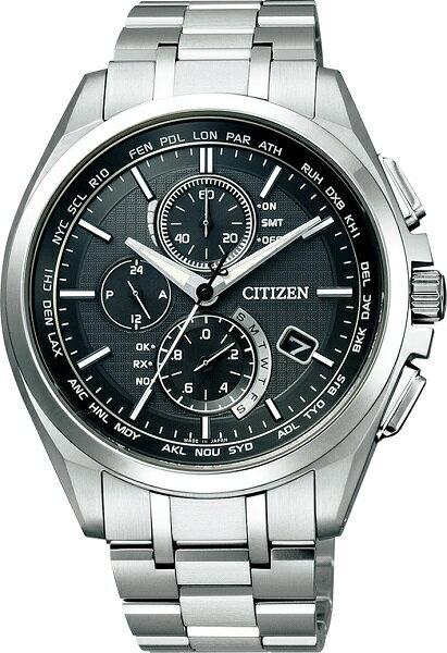 シチズン腕時計ソーラー電波時計アテッサダイレクトフライトAT8040-57E