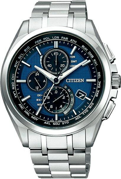 シチズン腕時計ソーラー電波時計アテッサダイレクトフライトAT8040-57L
