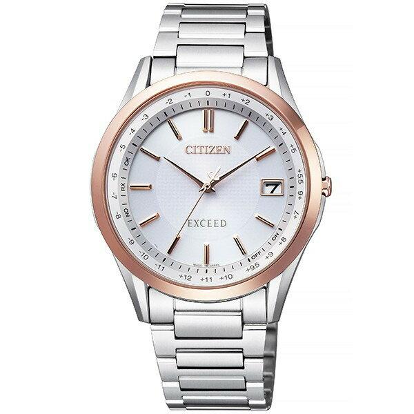 シチズン腕時計ソーラー電波時計 エクシードメンズダイレクトフライト針表示式CB1114-52A