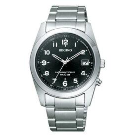 シチズン電波ソーラー時計電波腕時計 レグノ RS25-0481H