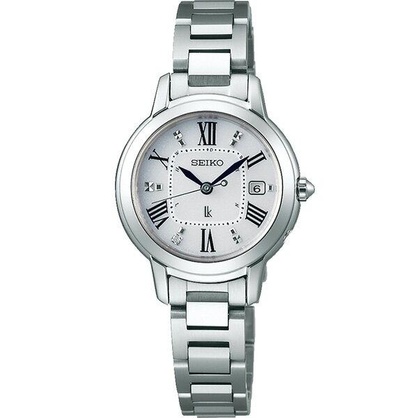 SEIKO LUKIA セイコールキア 腕時計 ソーラー電波時計 レディダイヤ チタンシリーズ SSQW035