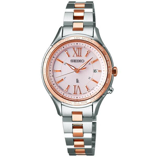 SEIKO LUKIA セイコールキア 腕時計 ソーラー電波時計 ルキアSSVV012