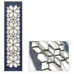 キャストパネルモダンなデザインのアルミ鋳物パネル送料・代引き無料の格安ディーズガーデン