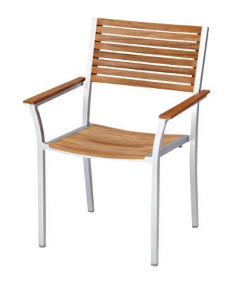 【ガーデンチェア】テーブル&チェアアルテックアームチェア