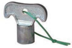 スタンダード蛇口十字真鍮
