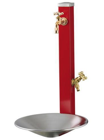 立水栓ウォータースタンドセット・スプレスタンド(蛇口2個付)・シャインポット
