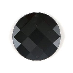 B21-35マル(全10色)≪1個単位販売≫≪黒 クリスタル 赤 青 紫 緑 黄色 オーロラ系≫