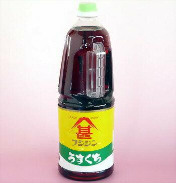 うすくちしょうゆ(混合)1.8L【フジジン】