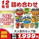 人気のカップ麺 12種類 詰め合わせセット[送料無料 カップラーメン 詰め合わせ カップ麺 アソート お試し 仕送り]