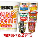 (日清 マルちゃん エースコック) ビッグ/タテロング 選べる合計2ケース(24個入)セット[送料無料 カップラーメン …
