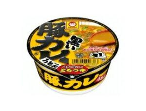 マルちゃん 黒いまめ豚カレーうどん(ミニサイズ) 42g 1ケース(12個入り)【東洋水産】