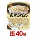 【東洋水産】(マルちゃん) 玄米ごはん 160g 40個(10個入×4ケース分)【送料無料(※沖縄別料金)】