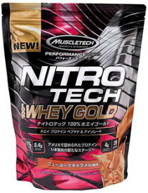 MUSCLETECH NITROTECH 100% WHEY GOLD 1kg ニューヨークキャラメル風味 マッスルテック