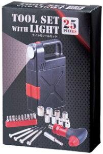 ライト付ツールセット エクステンション ドライバーグリップ 精密ドライバー ソケット ドライバービット DIY 工具
