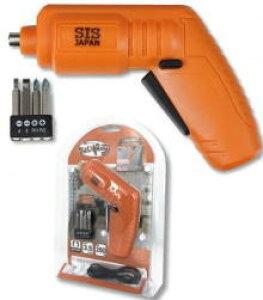 USB充電式電動ドライバー1台(オレンジ)ちょいドラ