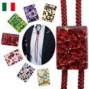 《ゆうパケットにて送料無料!!》【クールビズ】【プレゼント】【贈り物】メンズ ループタイ ベネチアガラス ヴェネチアガラス 【1点もの・手作り】【イタリア製】