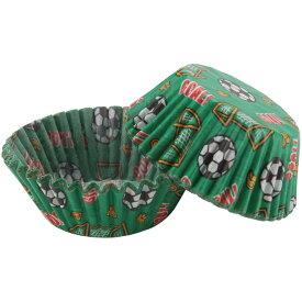 WILTON 紙製ベーキングカップ SOCCER 50個