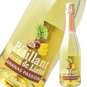 ペティアン・ド・リステル パイナップル&パッションフルーツ 750ml※12本まで1個口で発送可能※お届けするワインのヴィンテージが画像と異なる場合がございます。※ヴィンテージについて