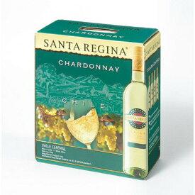 サンタ・レジーナ シャルドネ 3000ml※4本まで1個口で発送可能※お届けするワインのヴィンテージが画像と異なる場合がございます。※ヴィンテージについては、ご注文前にお問い合わせ下さい。 お歳暮 御歳暮 ギフト