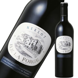 【27%オフ!】 ラ・フォルジュ メルロー 750ml※12本まで1個口で発送可能※お届けするワインのヴィンテージが画像と異なる場合がございます。※ヴィンテージについては、ご注文前にお問い合わせ下さい。