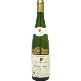 ポール・ブルケール ゲヴェルツトラミネール レゼルヴ 750ml※12本まで1個口で発送可能※お届けするワインのヴィンテージが画像と異なる場合がございます。※ヴィンテージについては、ご注文前にお問い合わせ下さい。