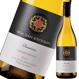 ヴィーニャサン エステバン シャルドネ レセルヴァ750ml※12本まで1個口で発送可能※お届けするワインのヴィンテージが画像と異なる場合がございます。※ヴィンテージについては、ご注文前にお問い合わせ下さい。 お歳暮 御歳暮 ギフト