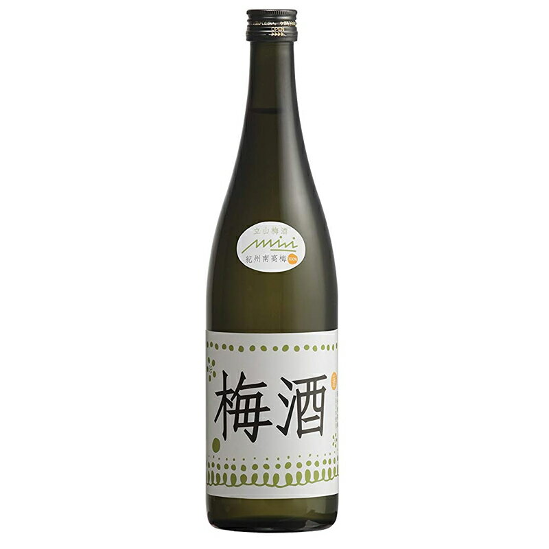 立山酒造 新・立山 梅酒 720ml