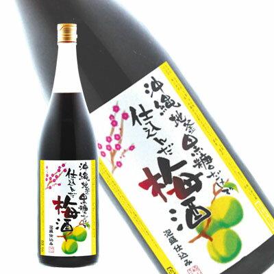 崎山酒造 沖縄黒糖梅酒 900ml(取り寄せ商品です。納期日は約2〜3週間後となります。納品日は別途連絡いたします)