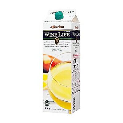メルシャン ワインライフ 白 甘口 パック 1.8L(1800ml)※6本まで1個口で発送可能
