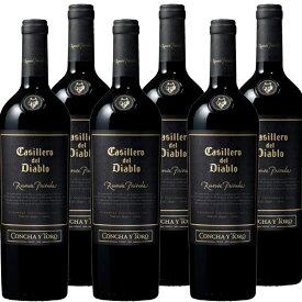 【キャンペーン特価★6本セット】カッシェロ ディアブロ レセルバ プリバダ カベルネソーヴィニヨン 750ml※お届けするワインのヴィンテージが画像と異なる場合がございます。※ヴィンテージについては、ご注文前にお問い合わせ下さい。
