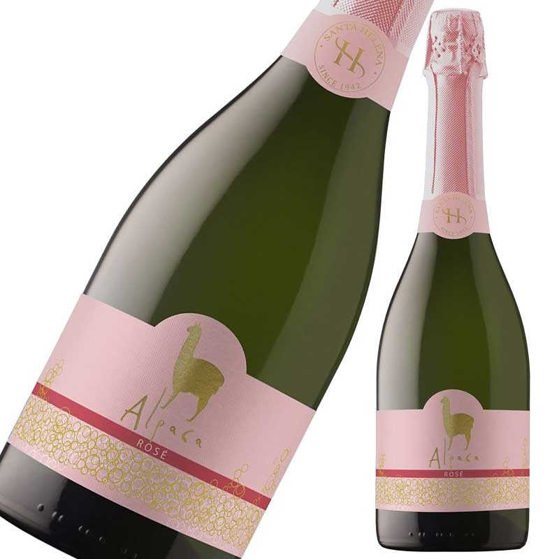 サンタ・ヘレナ アルパカ スパークリング・ロゼ 750ml×6本※12本まで1個口で発送可能※お届けするワインのヴィンテージが画像と異なる場合がございます。※ヴィンテージについては、ご注文前にお問い合わせ下さい。