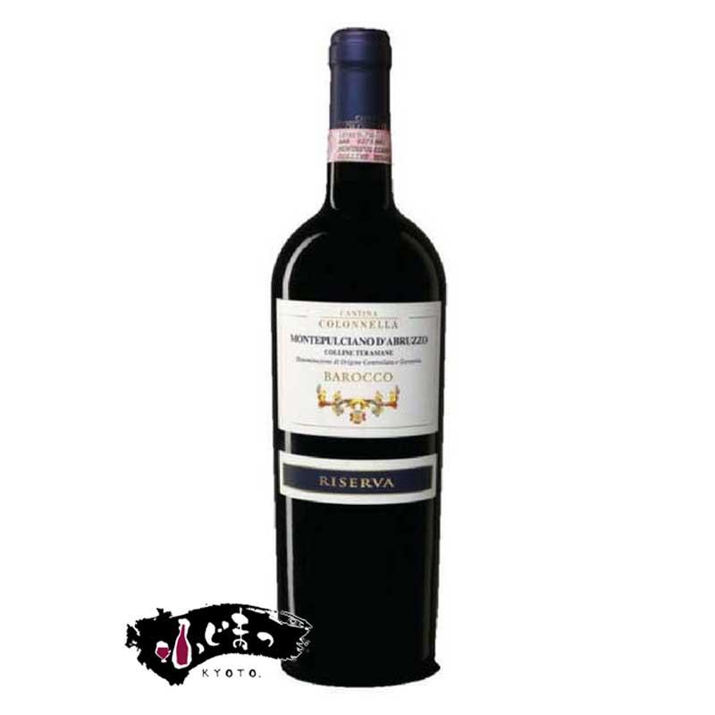 コロッネッラ バロッコ リゼルバ モンテプルチアーノ ダブルッツォ[2007] 750ml※お届けするワインのヴィンテージが画像と異なる場合がございます。 ※ヴィンテージについては、ご注文前にお問い合わせ下さい。