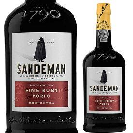 サンデマン ファイン ルビーポート 750ml※12本まで1個口で発送可能※お届けするワインのヴィンテージが画像と異なる場合がございます。※ヴィンテージについては、ご注文前にお問い合わせ下さい。 お歳暮 御歳暮 ギフト