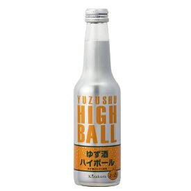 黄桜 ゆず酒ハイボール 250ml ※12本まで1個口で発送可能